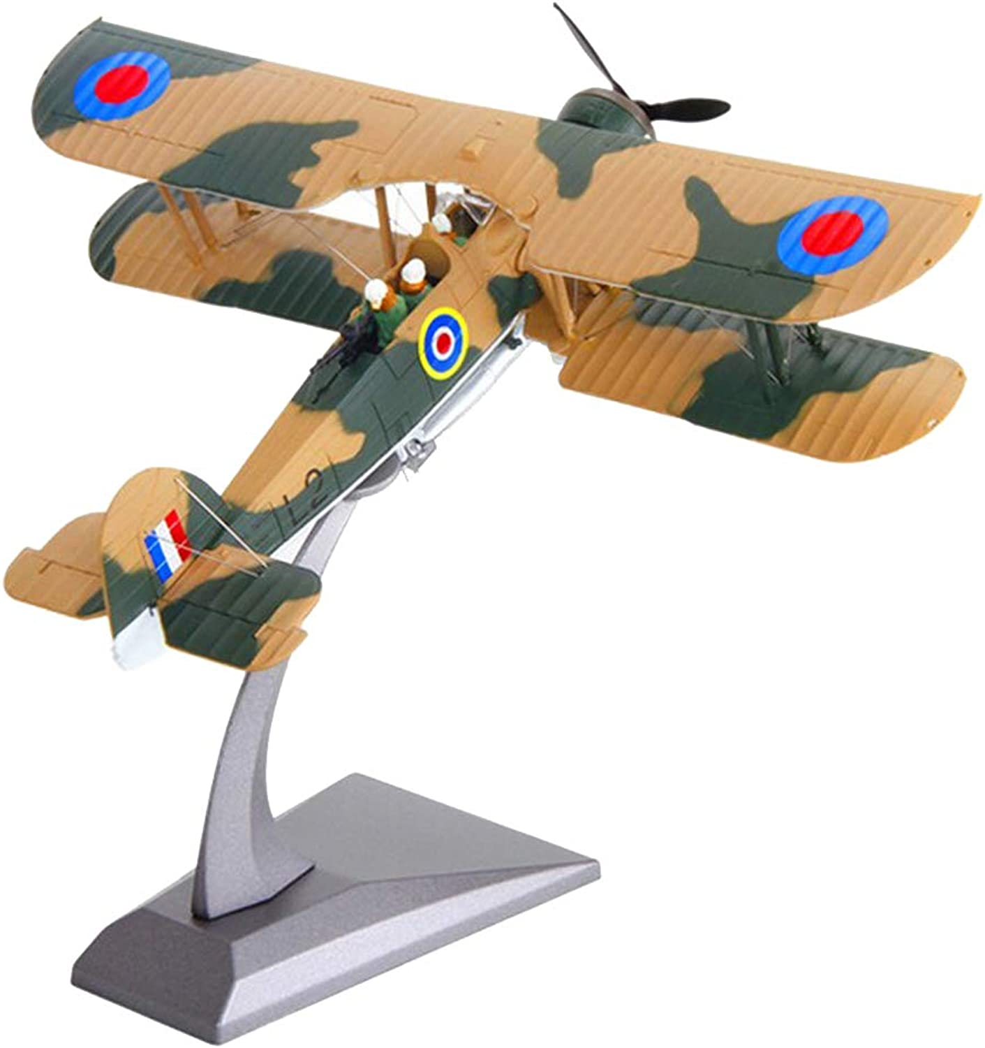 Fenteer 1 72 Swordfish Attack Aircraft Fighter -Diecast Model & Alloy Display Stand