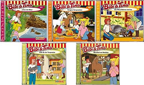 Bibi & Tina - Hörspiel zur Zeichentrick TV - Serie CD 61-65 im Set - Deutsche Originalware [5 CDs]