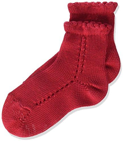 Condor 2569/4 Calcetines, Rojo (Rojo 550), 4 años (Tamaño del fabricante:4) para Niñas