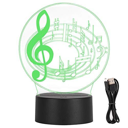 Jeanoko luz LED del color 3D, orquesta tridimensional de la lámpara del efecto visual 3d LED de luces para el hogar