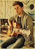 Canvas Poster One Direction Singer Niall Horan Retro Poster