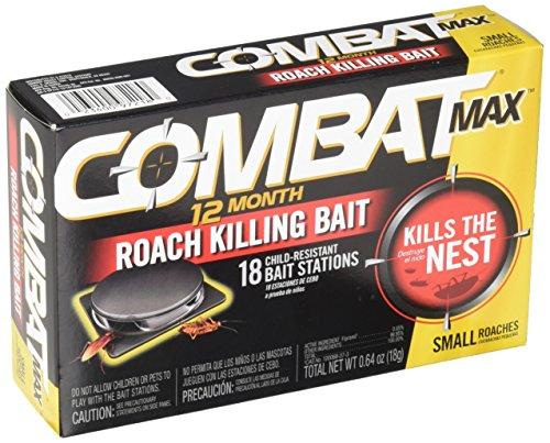 Combat Max 12 Month Roach Killing Bait-$7.00(61% Off)
