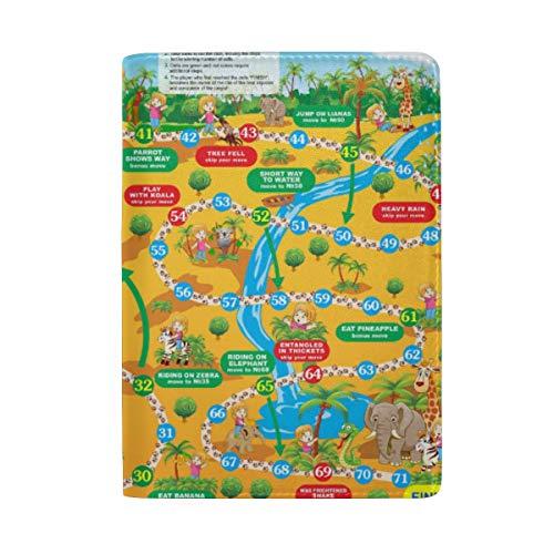 Kartenspiel Reisepasshülle für Damen, Herren, personalisierbar
