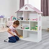 Liberty House Toys - Estantería de Madera para Casas de muñecas, Color Blanco...