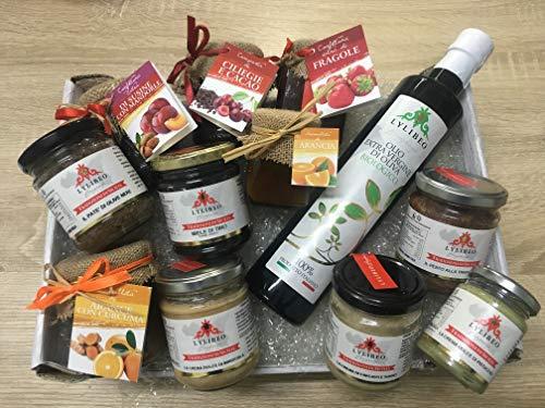 Cesta regalo la Sicilia a Tavola, prodotti selezionati della nostra azienda