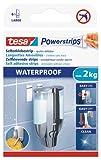 tesa Powerstrips Strips LARGE , wasserfest, Packung mit 6 Strips