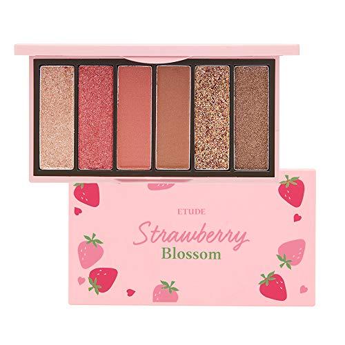 ETUDE Play Color Eyes Mini Sombra de ojos Strawberry Blossom 0.03 oz (0.9 g) x 6 colores