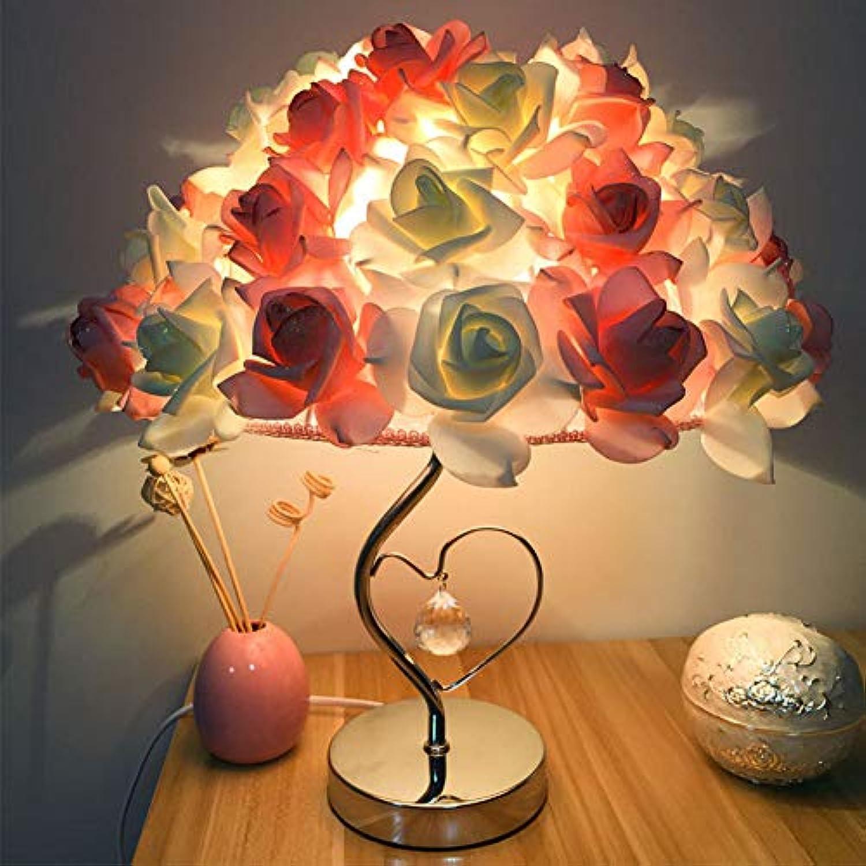 SUNA Moderne Schlafzimmer Tischlampe, Geschenk Dekorative Nacht Stieg Herzfrmige Tischlampe Hochzeit Liefert (zwei Farben)