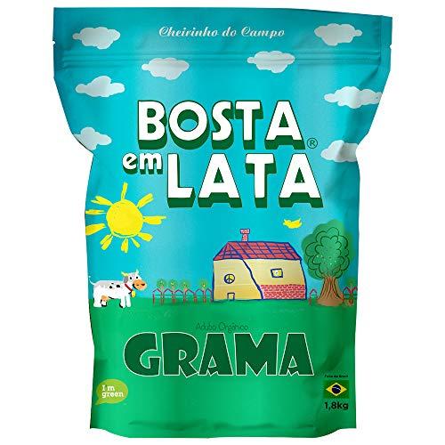 Fertilizante Orgânico Bosta em Lata Grama Zip - 1,8 kg