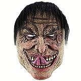 XWYZY Máscara de Halloween de terror, máscara de látex, máscara de terror, máscara de terror, máscara de fantasma