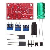 Módulo electrónico Fiebre depurable altavoz de alta fidelidad de sonido alto y bajo de dos vías de audio del altavoz Crossover Kit de 3 piezas Equipo electrónico de alta precisión