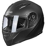 Nexo Casque intégral Casque de moto Casque intégral Basic II mat noir XS, Unisexe, Tourer, toute...