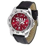 Southern Illinois SalukisスポーツAnochromeメンズ腕時計