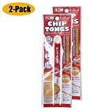 2-PACK Chip Tongs Clip for Home Restaurant Bakery Kitchen Bread Snack Potato Salad Food