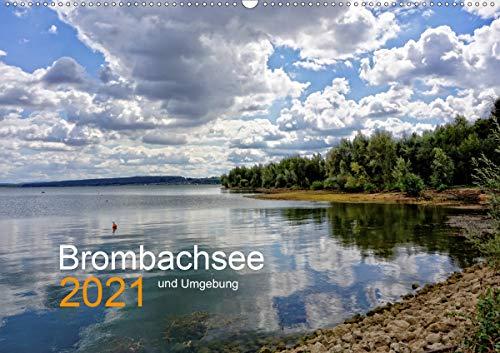 Brombachsee und Umgebung (Wandkalender 2021 DIN A2 quer)