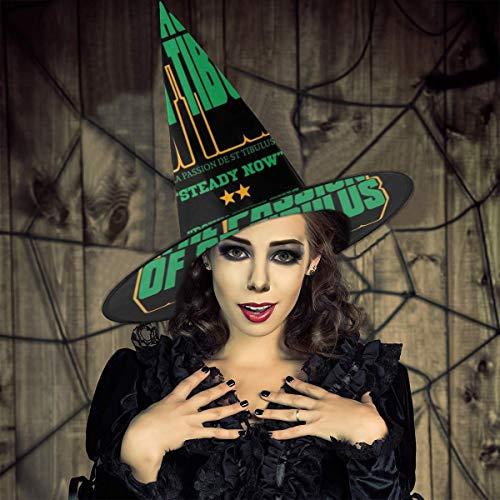 AISFGBJ - Pster de la pelcula La pasin de San Tibulo, Sombrero de Bruja de Padre Ted, Disfraz Unisex de Halloween para Fiesta de Carnaval de Navidad, Halloween