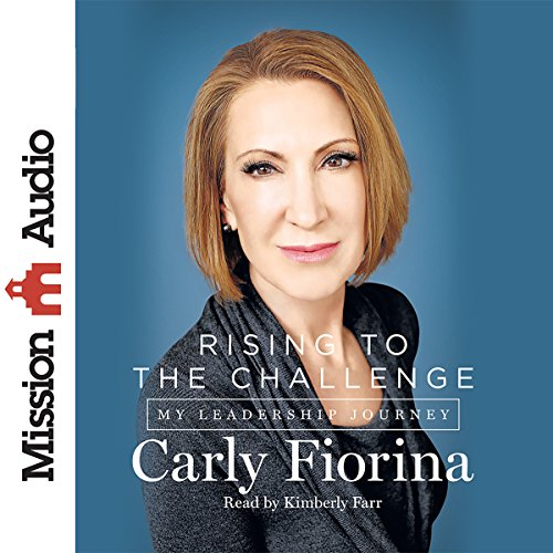 Rising to the Challenge audiobook cover art