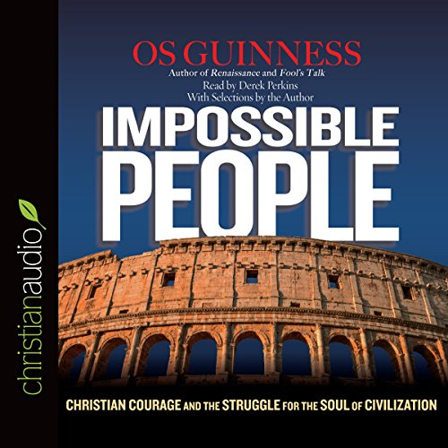 Impossible People audiobook cover art