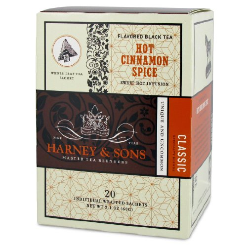 Harney and Sons Hot Cinnamon Spice Tea 20 Count