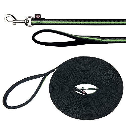 TX-20635 Fusion Tracking Leash 5 m/17 mm,Black/Green