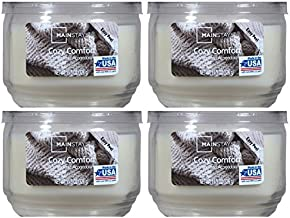 Mainstays 11.5oz Scented Candle, Cozy Comfort 4-pack