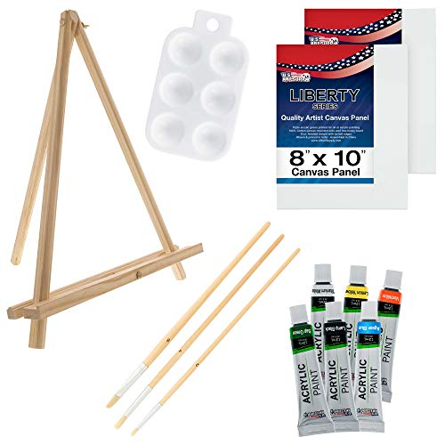 U.S. Art Supply 13-Piece Acrylic Artist...