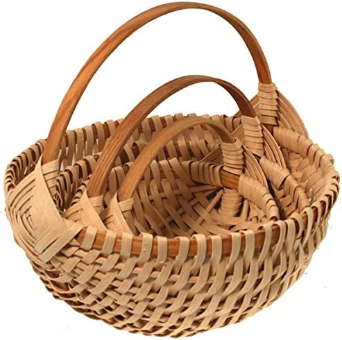 Nested New sales Set of Melon Weaving Kits Basket Discount is also underway
