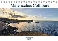 Malerisches Collioure in Suedfrankreich (Tischkalender 2022 DIN A5 quer): Intensiv blauer Himmel, tuerkises Wasser und bunte Haeuser - das ist das unvergleichbare, farbenfrohe Collioure in Suedfrankreich. (Monatskalender, 14 Seiten )