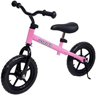 スタンド 付 足こぎ 自転車 GO!RIDER 桃 ブレーキ 無 / GR-02S-PK / ###自転車GR-02S桃###