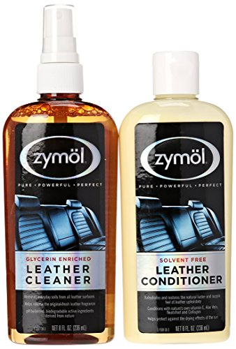 Zymol Z-507 Leather Cleaner and Z-509 Leather Conditioner (8 Ounce Each)