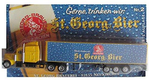St. Georg Bier Nr.14 - Gerne trinken wir ... - Peterbilt - US Sattelzug