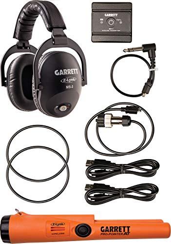 Garrett metal Detectors unisex da ms-3kit cuffie senza fili con z-lynk Garrett pro-pointer, arancione e nero, OS fa