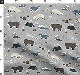 Wild, Wald, Bär, Wolf, Hirsch, Reh Stoffe - Individuell