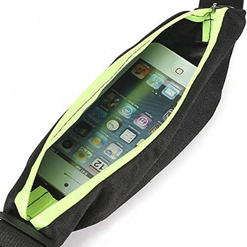 Mosako Riñonera deportiva para teléfono móvil, para correr, resistente al agua