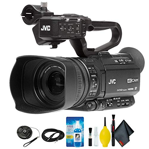 JVC GY-HM180 Ultra HD 4K Camcorder with...