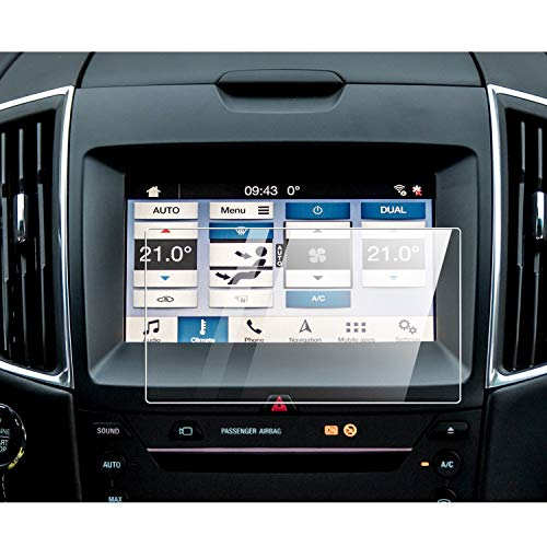 YEE PIN Screen Protector for 2019 Ranger SYNC 8-Inch Navigation Touchscreen Compatible With 2013-2020 Fusion Focus F-150 F150 F250 Escape Explorer Sync2 Sync3 Screen Cover