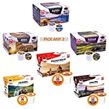 Tiziano Bonini 48 Keurig Compatible Pods, K-Cup. Pick Any 2 Packs. Choose from: Roma, Napoli, Sumatra,...