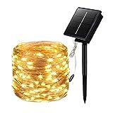 Sooair Guirlande Lumineuse Solaire, 20m 200 LED Guirlande Lumineuse...