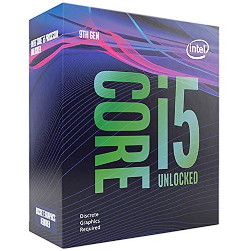 Intel Core i5-9600KF processore 3,7 GHz Scatola 9 MB Cache intelligente
