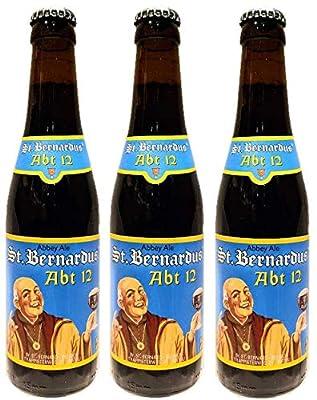 【ベルギービール】セント・ベルナルデュス・アブト 330ml×3本