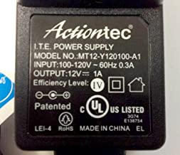 Genuine Actiontec AC Adapter Power Supply 12V 1A Model: MT12-Y120100A1