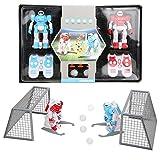 Zerodis 2.4G RC Robot, Control Remoto inalámbrico Control de Gestos Robot Kit USB eléctrico balón de fútbol para niños Juguetes