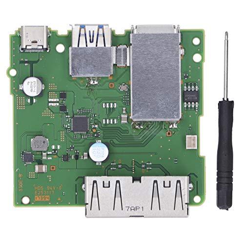 Placa de Circuito de la estación de Acoplamiento Placa de Carga HDMI Profesional Placa de Circuito de la Placa Base de la estación de Acoplamiento Reemplazo con Destornillador
