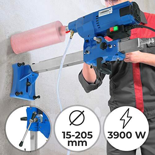 Kernbohrmaschine für Nass und Trockenbohrungen geeignet, Ohne Bohrkronen - 3900W Max. Bohrdurchmesser 205mm - Kernbohrgerät Kernbohrer Kernbohrmaschinen Bohrmaschine