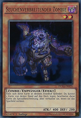 Seuchenverbreitender Zombie - DUSA-DE076 - Ultra Rare