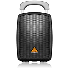 All-in-one portable PA system with full Bluetooth* connectivity Incredibly simple to set-up and use - no technical background required 40 Watts of powerful, high-quality sound for audiences of up to 250 people Perfect for parties, schools, corporate ...