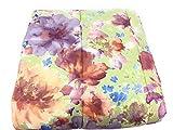 Trapunta da Una Piazza e Mezza Vallesusa Art. Flower Power in Puro Cotone Sweet Touch cm 220x260 VAR. Sabbia Rosata 116