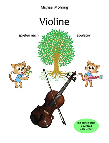 Violine: spielen nach Tabulatur