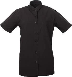 Camisa Cuello Mao Uniforme Camarera Mujer MESERO DEPENDIENTA Barman COCTELERA PROMOTRORAS Blusa - Ref.8271B