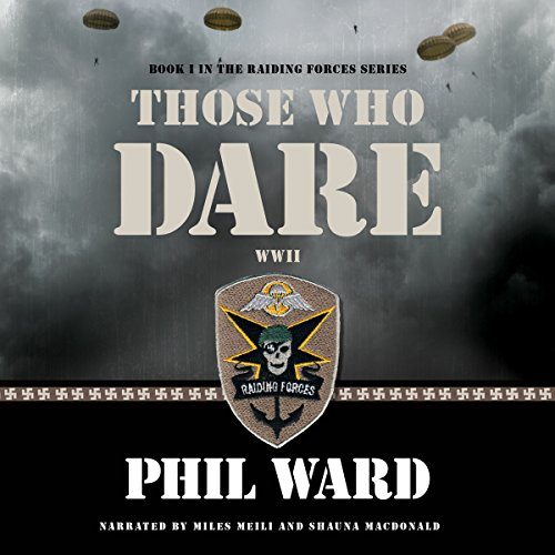 Those Who Dare audiobook cover art